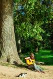 Beautiful hippie girl Royalty Free Stock Photo