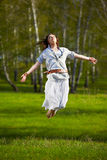 Beautiful hippie girl Royalty Free Stock Image