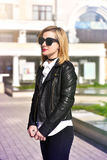 Beautiful hipster girl Royalty Free Stock Images