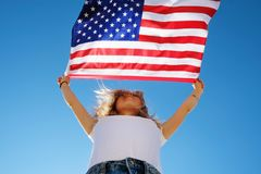 4th of July Independence Day celebration concept royalty free stock photography