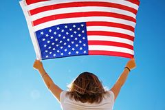 4th of July Independence Day celebration concept stock image