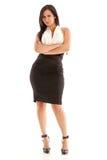Beautiful Hispanic Business Woman Stock Image