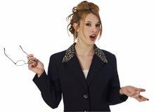Beautiful Hispanic Business Woman Stock Photos