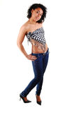 Beautiful Hispanic girl. Royalty Free Stock Photography
