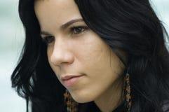 Beautiful  hispanic girl Stock Photo