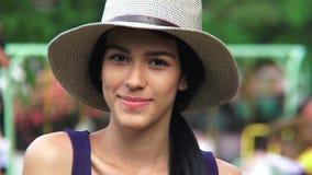 Beautiful hispanic person stock footage