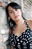 Beautiful Hispanic Teenager stock photos
