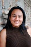 Beautiful Hispanic woman. A Young Smiling Hispanic Woman Royalty Free Stock Image
