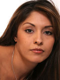 Beautiful Hispanic Woman Royalty Free Stock Photography
