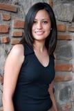 Beautiful Hispanic Woman. A close up of a Young, Beautiful Hispanic Woman Royalty Free Stock Photo