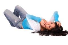 Beautiful Hispanic woman. Royalty Free Stock Image