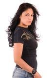 Beautiful Hispanic woman. Royalty Free Stock Photo