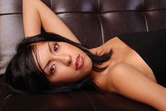 Beautiful hispanic woman. Royalty Free Stock Images