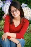 Beautiful Hispanic woman. A Young Smiling Hispanic Woman Stock Photography