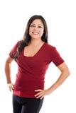 Beautiful Hispanic woman portrait Stock Images