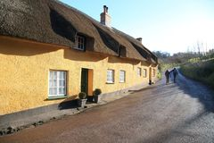 Beautiful historic cottage Royalty Free Stock Photography