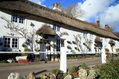 Beautiful historic cottage Stock Photo