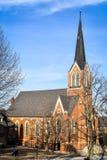 First Lutheran Church - Decorah, Iowa stock image