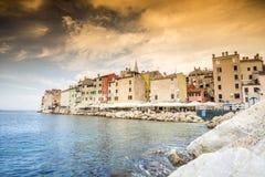 Beautiful historic Rovinj, Croatia Stock Images