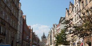 Beautiful historic tenements Stock Image