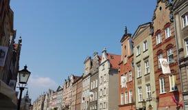 Beautiful historic tenements Stock Photos