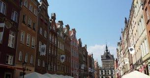 Beautiful historic tenements Stock Images