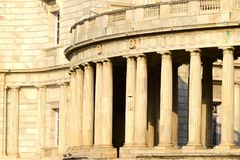 Marble made historical architectural building photograph royalty free stock photography