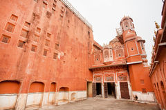 Beautiful historical building of the famous Pink City Stock Photography