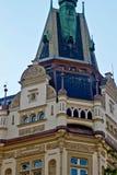 Beautiful historical building. Prague royalty free stock photo