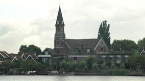 The beautiful and historical CK Verlaten Kerk church stock video