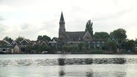 The beautiful and historical CK Verlaten Kerk church stock video footage