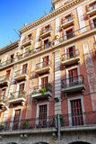 Beautiful historical landscape of Barcelona Stock Photography
