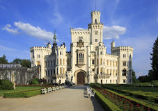 Beautiful Hluboka Castle Stock Image