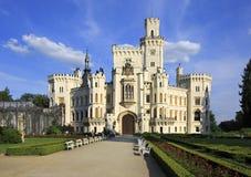Beautiful Hluboka Castle. In Czech Republic stock image