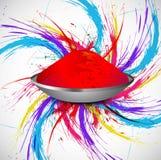 Beautiful holi colorful indian festival Stock Images