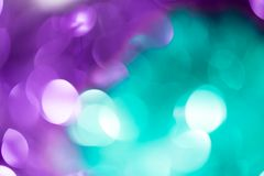 Beautiful holiday bokeh as background. Photo of an abstract texture royalty free stock photos