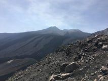 Sicily Etna summer 2016 landscape stock image