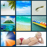 Beautiful holiday pictures Stock Photo
