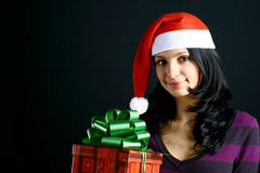 Beautiful holiday smiles Royalty Free Stock Photography