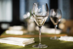 Beautiful holiday table setting Royalty Free Stock Images