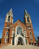 Holy Hill Cathedral, Hubertus, WI stock images