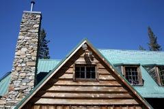 Beautiful home. Beautiful rustic home royalty free stock photo
