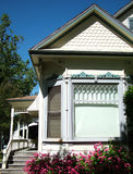 Beautiful Home. Front view of a vintage-looking home royalty free stock photography