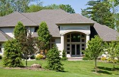 Beautiful Home Stock Photography