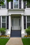 Beautiful home entrance stock photography
