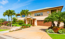 Beautiful Home Exterior Royalty Free Stock Photography