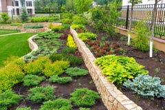 A beautiful home garden Stock Photo