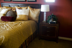 Beautiful Home or Hotel Bedroom Royalty Free Stock Photography