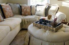 Beautiful home living room area Stock Photos