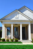 Beautiful Home During the Springtime stock photography